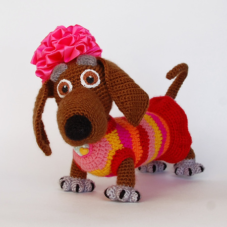 Sweet Amigurumi Dogs Free Crochet Patterns – Wool Patterns | 450x450