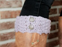 "crochet pattern boot cuffs ""Mila"" for beginner"