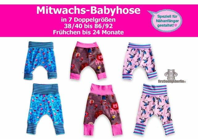 Mitwachs-Babyhose *** E-Book Pdf-Datei Nähanleitung mit ...