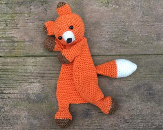 Ravelry: Lovey Blanket Bear Security Blanket Teddy pattern by Tatie | 450x562