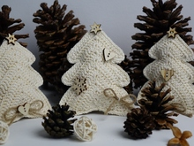 Christmas Tree Decoration / Ornament Crochet Pattern
