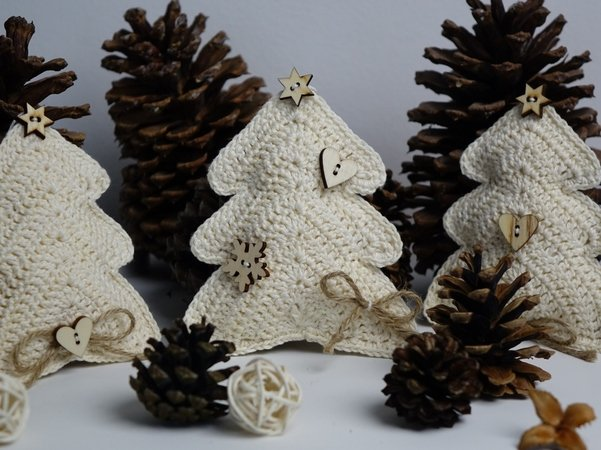 Christmas Tree Decoration Ornament Crochet Pattern