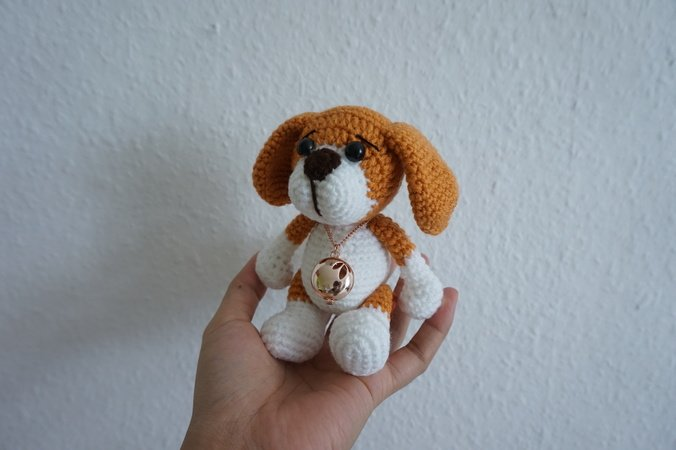 Little puppy crochet pattern