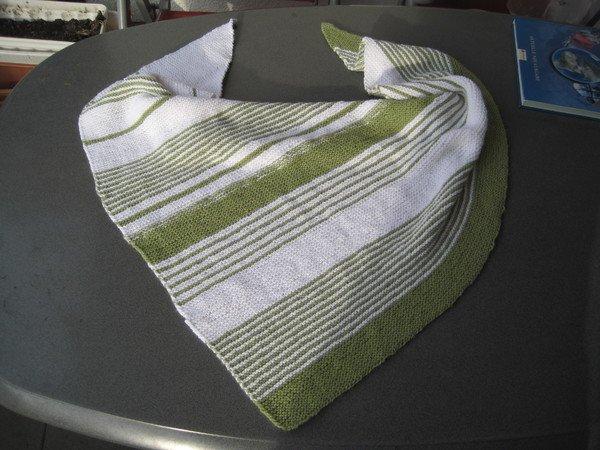 strickanleitung xxl dreieckstuch greenlove ideal auch f r anf nger. Black Bedroom Furniture Sets. Home Design Ideas