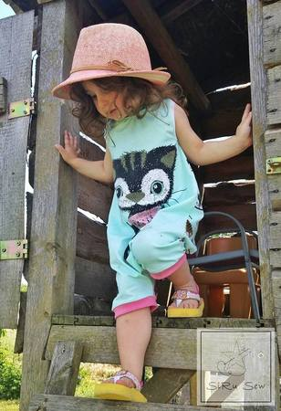E-Book Schnittmuster Baby-Jumper melon jumper 50-92