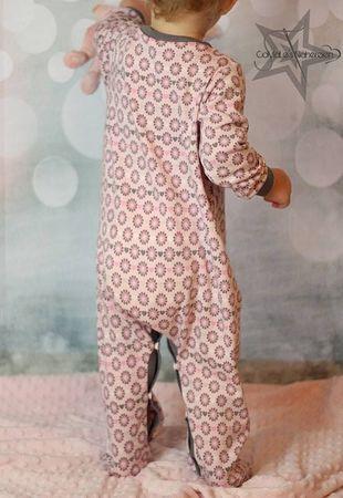 E-Book Schnittmuster Babyschlafanzug little lullaby 50-92