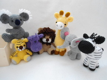 Zoo animals crochet pattern