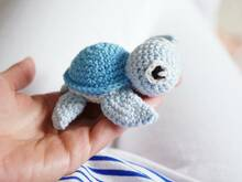 crochet pattern little turtle