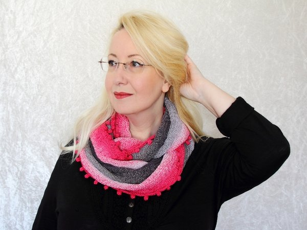 Knitting Pattern Cowl / Loop Endless