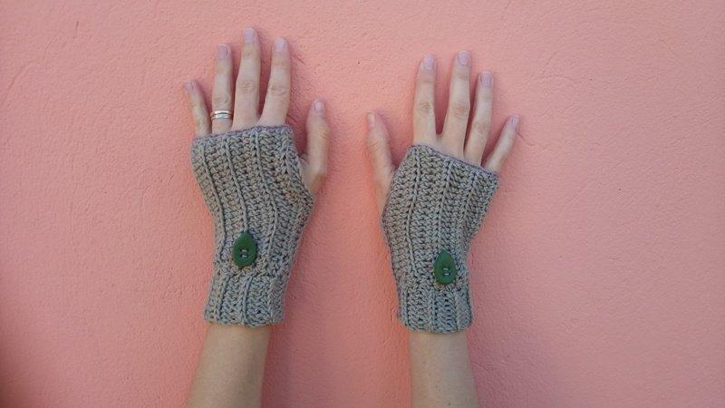 Fingerlose Handschuhe Elena -Fingerless crochet gloves Elena