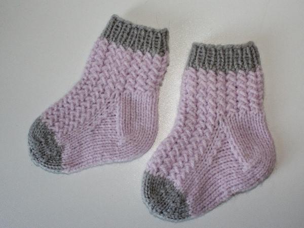Babysocken stricken leicht gemacht | Crazypatterns.net