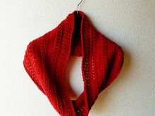 "Cowl knitting pattern ""Gilles"""