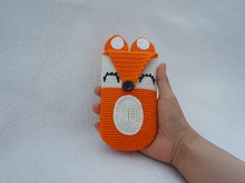 Fox phone case crochet pattern