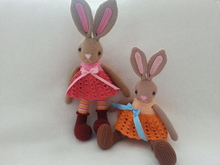 Lovely bunny crochet pattern