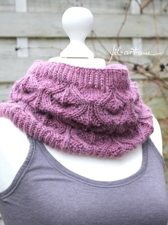 "Knitting pattern cowl ""Kjellrun"""