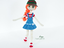 Pattern Doll Summer in sundress