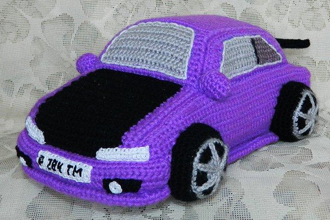 Crochet Toys For Boys : Crochet pattern for violet toyota corolla toys boys
