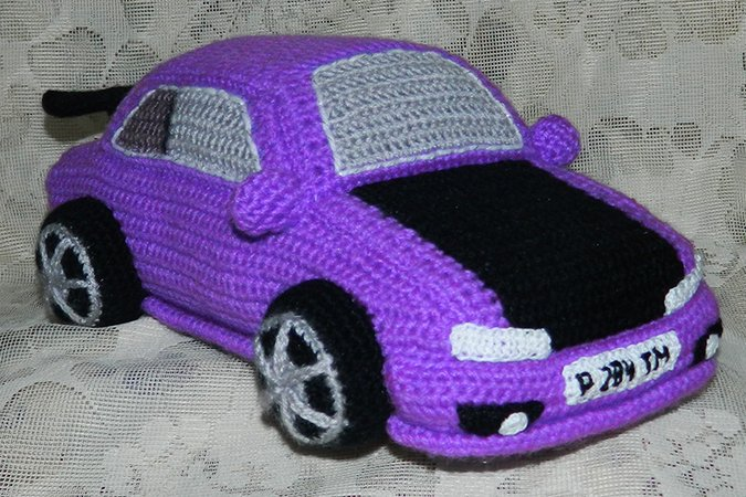 Crochet Pattern For Violet Toyota Corolla Toys For Boys