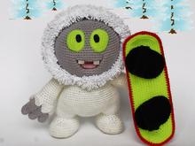 Amigurumi Monster Pattern Free Crochet : Crochet patterns from lenchobirdcrochettoys