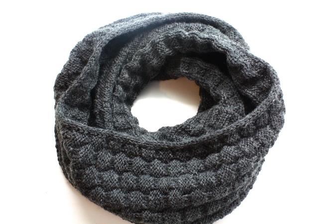Bevorzugt Schal für Männer stricken // Männer-Loop WH51