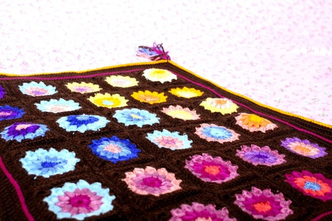 Flower Granny Blanket