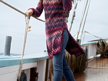 Strickanleitung Long-Pulli Gillian