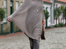 Strickanleitung Poncho-Pulli Lillesol