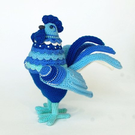 Crochet bird amigurumi pattern - Amigurumi Today | 450x450