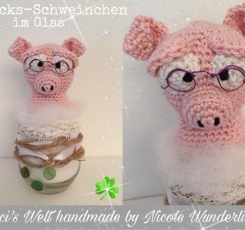 Häkelanleitung Glücks Schweinchen Im Glas