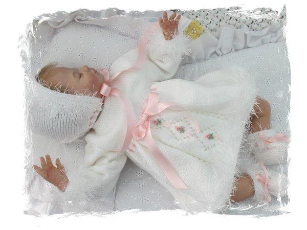 wholesale dealer 6dd54 06546 Strickanleitung Modell PIA1 für Reborn und Baby Gr. 50