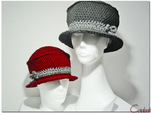 Hat Valberg - Crochet Pattern - Sizes S-XL