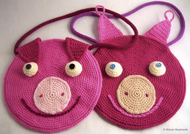 Kindertasche Schweinchen