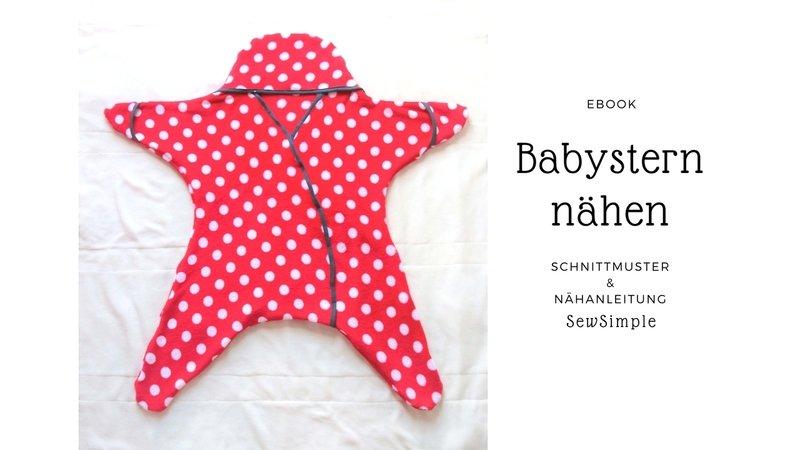 eBook: Babystern nähen, Anleitung mit Schnittmuster