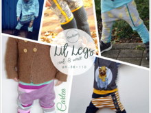 "E-Book ""LitLegs"" ♥ cool & wave Gr. 56-110"