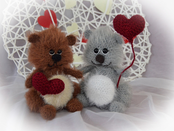 Teddy Hakeln Herz Valentinstag