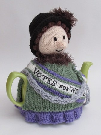 Suffragette Tea Cosy