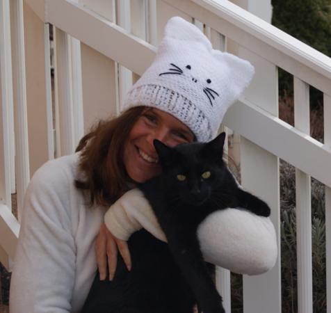 Mütze häkeln /// Katzen-Mütze häkeln