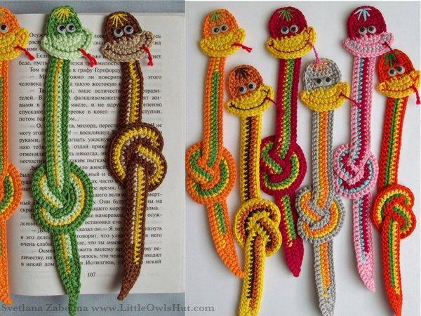 Crochet pattern Elsa the cute snake | 450x600