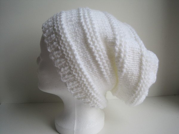 Strickanleitung Schöne Dicke Damenmütze Beanie Perfekt Für Anfänger