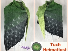 "Tuch ""Heimatlust"" mit 1 BOBBEL-COTTON XTRA von Woolly Hugs stricken"