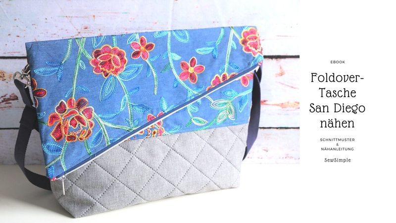 E-Book: Foldover Tasche San Diego nähen