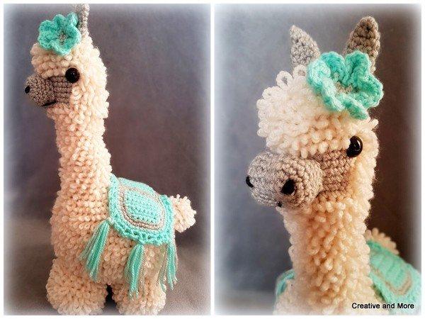 Alpaca crochet pattern - llama crochet pattern - amigurumi alpaca ... | 450x600