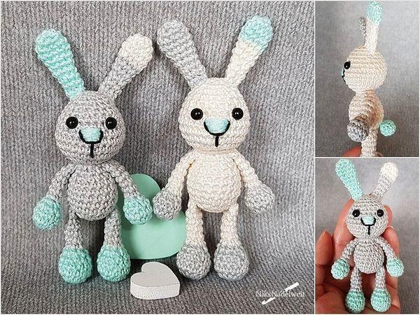 Hase Häkeln Mini Hase Handtierchen