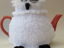 Snowy Owl Tea Cosy Knitting Pattern
