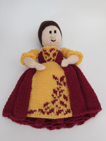 Crinoline Lady Dolly Knitting Pattern
