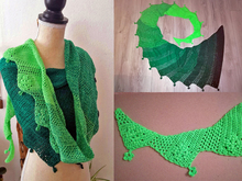 "Crochet pattern: Dragon Tail ""Lucky Rea"""