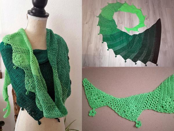 Crochet Pattern Dragon Tail Lucky Rea