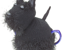 Scottie Dog Tea Cosy Knitting Pattern