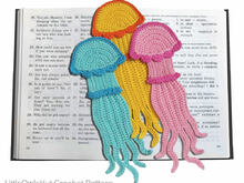 151 Crochet Pattern - Jellyfish bookmark or decor - Amigurumi PDF file by Zabelina CP