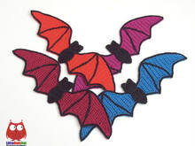163 Crochet Pattern - Bat Halloween bookmark or decor - Amigurumi PDF file by Zabelina CP